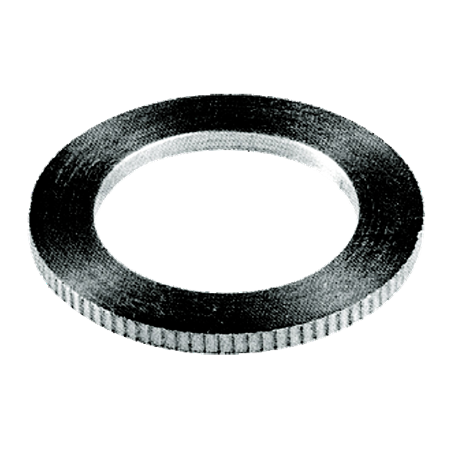 Toothed bore reduction ring