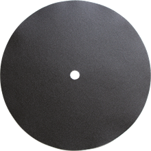 DOUBLE-SIDED PAPER DISC