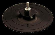 VELCRO GRINDING DISC, 8 MM ROD