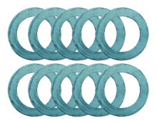 SET OF 10 PRECISION RINGS FROM 1 TO 10/10 MM