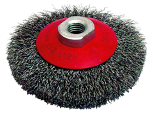 CRIMPED STEEL WIRE CUP BRUSH