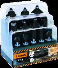 BOX OF 12 CARBIDE DRILL BITS SHANK 8 MM