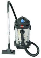 STAINLESS STEEL WET & DRY VACUUM CLEANER/BLOWER 30L WITH SYNCHRONIZED SOCKET