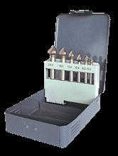 BOX OF 6 HSS METAL COUNTERSINKS