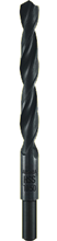 HSS LAMINATED METAL DRILL BIT WITH REDUCED SHANK