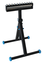 TRESTLE WITH ROLLER + BALL-TOPPED PLATFORM - TWO FEET