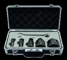 BOX OF 5 M14 DIAMOND HOLE SAWS FOR STONEWARE