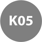 REVERSIBLE CARBIDE INSERTS - K05