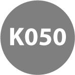 45° REVERSIBLE CARBIDE INSERTS - K050